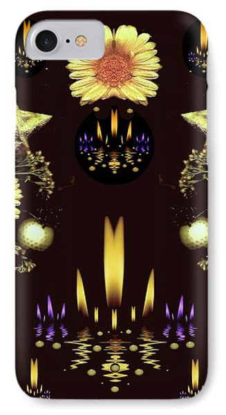 Stars Over The Sacred Sea Of Candles IPhone Case