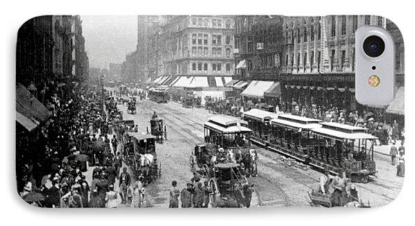 State Street - Chicago Illinois - C 1893 IPhone Case