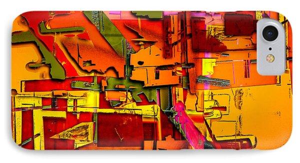 Industrial Autumn IPhone Case