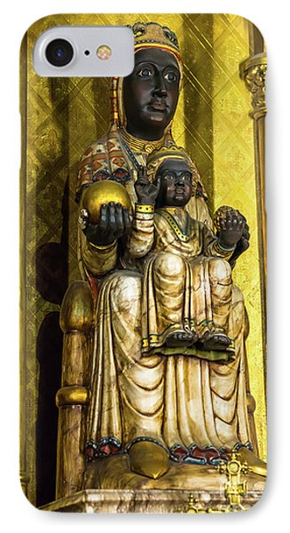 Statue Of The Virgin Mary IPhone Case
