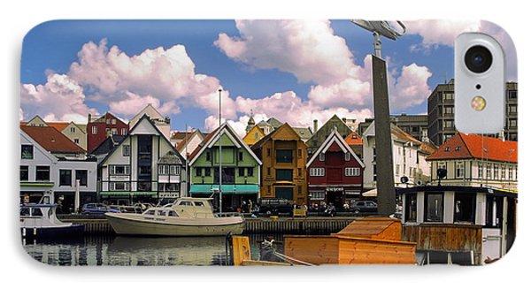 Stavanger Harbor IPhone Case