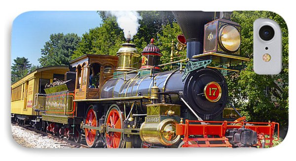 Steaming Into History IPhone Case