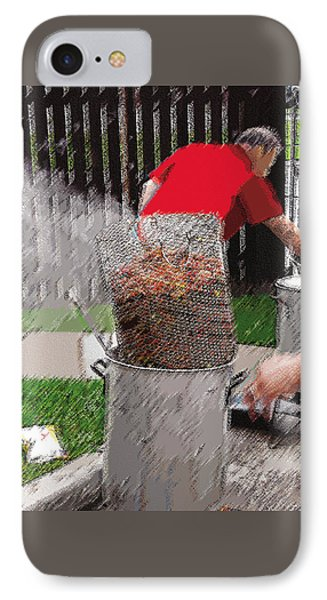 Steaming Mud Bugs For Falvor IPhone Case