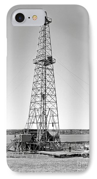 Steel Oil Derrick IPhone Case