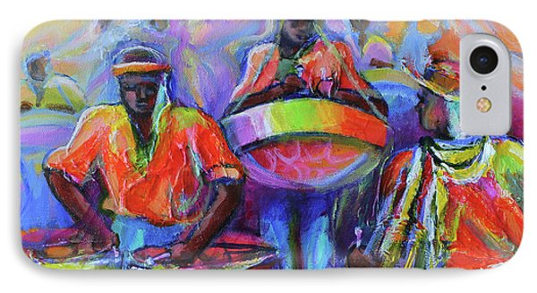 Steel Pan Carnival IPhone Case