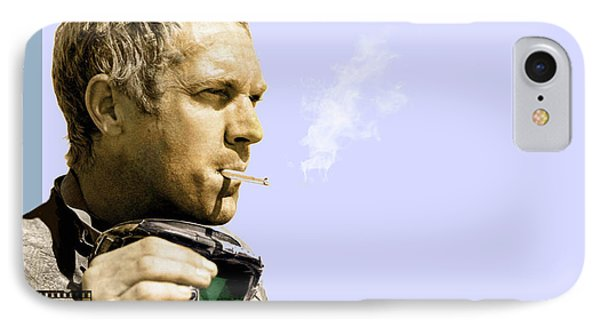Steve Mcqueen Portrait IPhone Case
