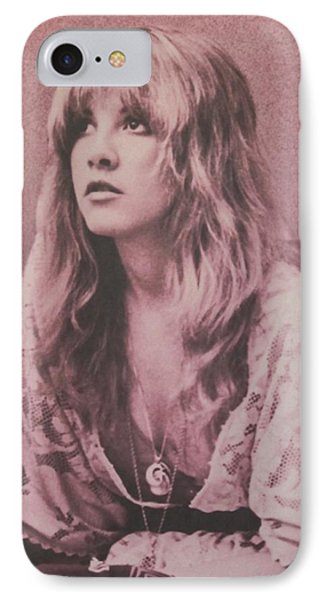 Music iPhone 8 Case - Stevie Nicks  by Donna Wilson