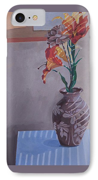 Still Life With Tiger Lilies IPhone Case