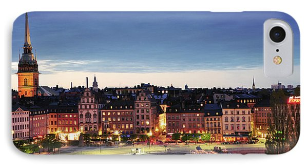 Stockholm By Night IPhone Case