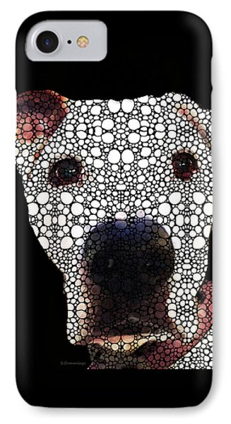 Stone Rock'd Dog 2 By Sharon Cummings IPhone Case