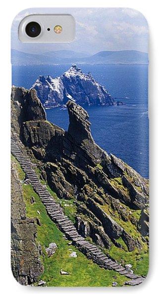 Stone Stairway, Skellig Michael IPhone Case