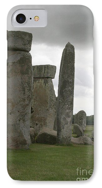 Stonehenge Side Pillars IPhone Case