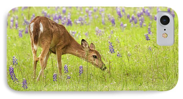 Stop And Smell The Bluebonnets. IPhone Case
