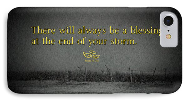 Storm Blessings IPhone Case
