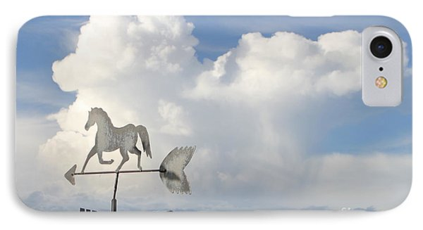 Storm Clouds Weather Vane IPhone Case