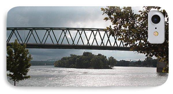 Stormy Ohio River IPhone Case