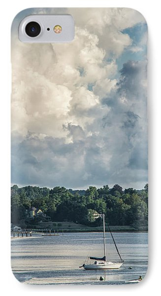 Stormy Sunday Morning On The Navesink River IPhone Case