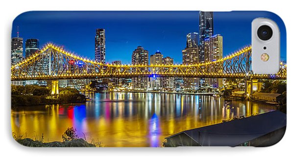Story Bridge- Brisbane Queensland IPhone Case