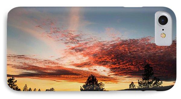Stratocumulus Sunset IPhone Case