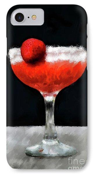 Strawberry Margarita IPhone Case