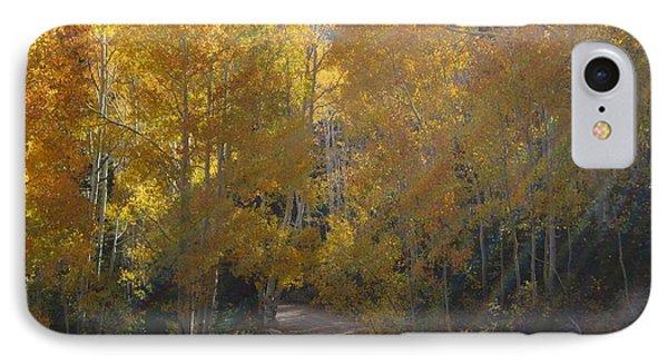 Streaming Light Paiute Trail Fremont Utah IPhone Case