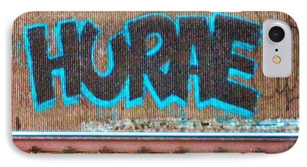 Street Graffiti-hooray IPhone Case