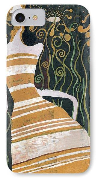 Stripe Dress IPhone Case