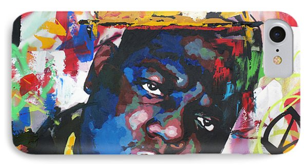 England iPhone 8 Case - Biggie Smalls by Richard Day