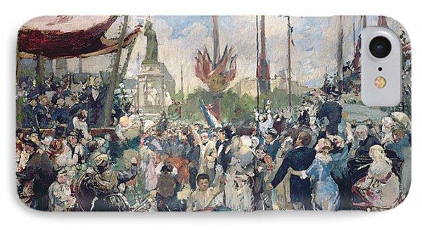 Study For Le 14 Juillet 1880 IPhone Case