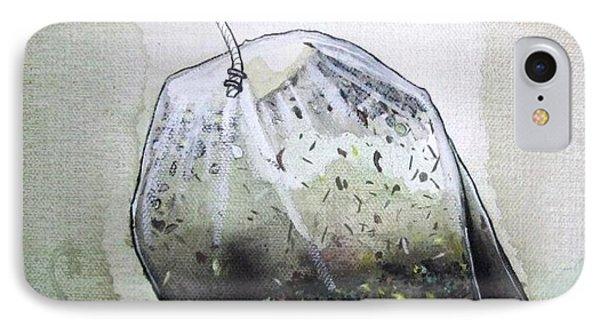 Submerged Tea Bag IPhone Case