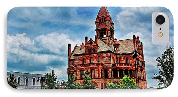 Sulphur Springs Courthouse IPhone Case
