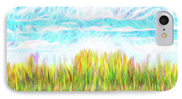 Summer Clouds Streaming IPhone Case