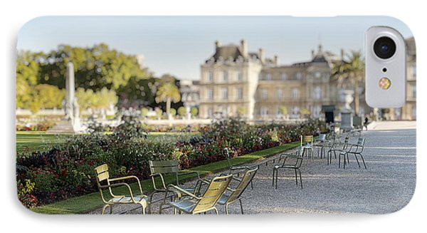 Summer Day Out At The Luxembourg Garden IPhone Case