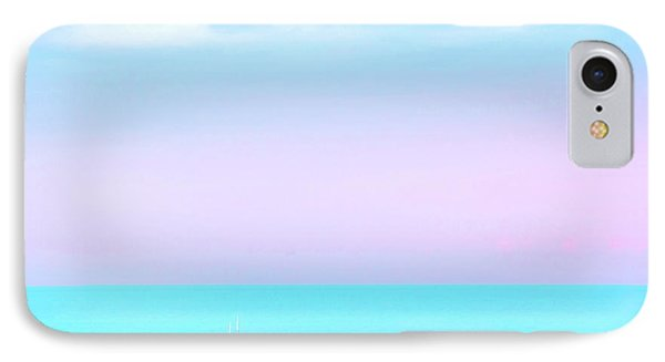 Helicopter iPhone 8 Case - Summer Dreams by Az Jackson