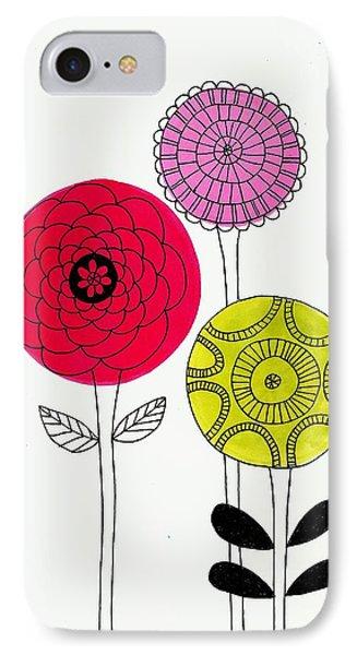 Summer Flowers IPhone Case