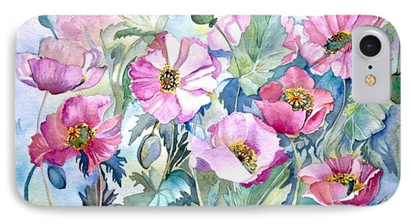 Summer Poppies IPhone Case