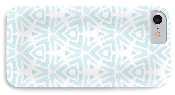 Wood iPhone 8 Case - Summer Splash- Pattern Art By Linda Woods by Linda Woods