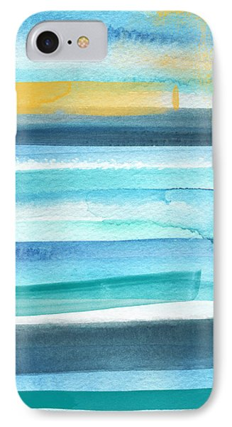 Summer Surf 2- Art By Linda Woods IPhone Case