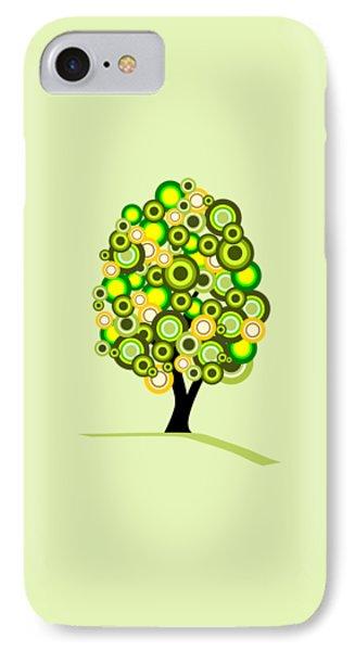 Garden iPhone 8 Case - Summer Tree by Anastasiya Malakhova
