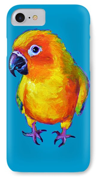 Sun Conure Parrot IPhone Case