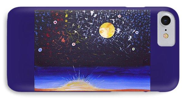 Sun Moon And Stars IPhone Case