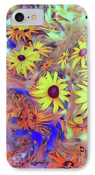 Sunday Flower IPhone Case