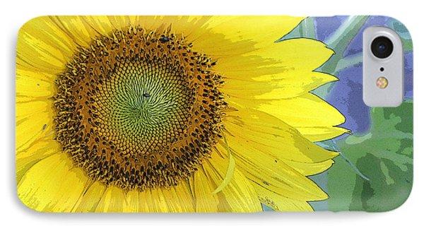 Sunflowers All Around IPhone Case