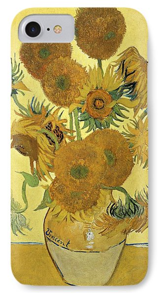 Beauty In Nature iPhone 8 Case - Sunflowers, 1888  by Vincent Van Gogh