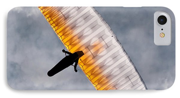 Sunlit Paraglider IPhone Case
