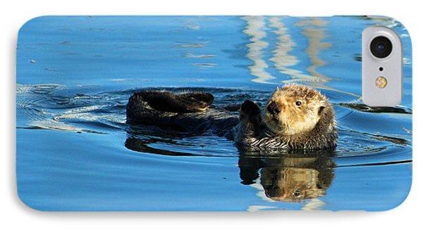 Sunny Faced Sea Otter IPhone Case