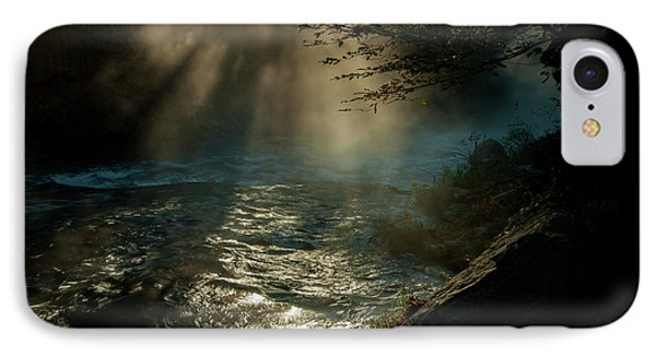 Sunrays At Fork River IPhone Case