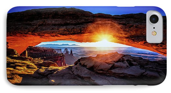Sunrise At Mesa Arch IPhone Case