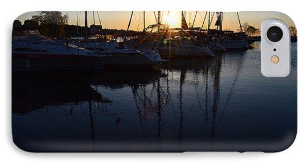 Sunrise At The Marina  IPhone Case
