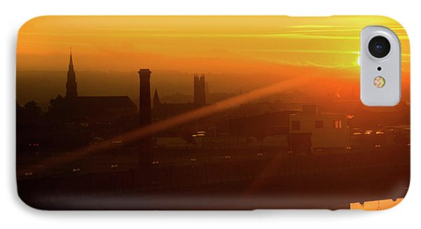 Sunset Belfast IPhone Case